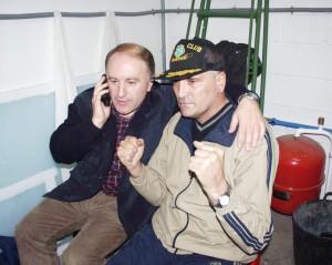 Durante un tiempo trabajó al lado de Gayoso en el porgrama Luar de la tvg.
