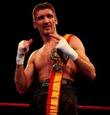 El boxeador coruñés mas laureado de todos los tiempos Iván Sánchez, impartió el curso sobre Técnica boxística.