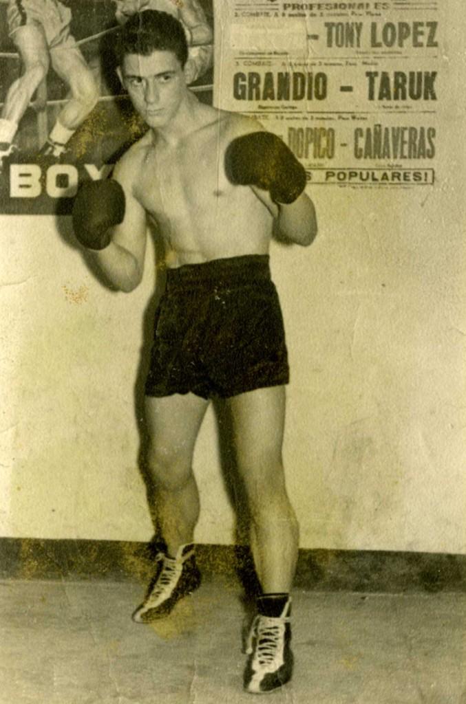 MERO BARRAL fue pupilo del otrora campeón de España FRANCISCO BELTRAN.
