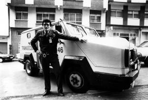 Fuera del boxeo Felipe trabajó como guardia de seguridad. Foto La Voz