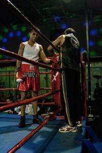 El junior del PlanasBox se impuso a su contrincante del Ludux Box Fran Parreño