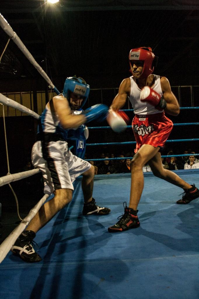 El prospecto NAUMAN CHAUDHARY está llamado a ser una figura del boxeo. Fran Parreño
