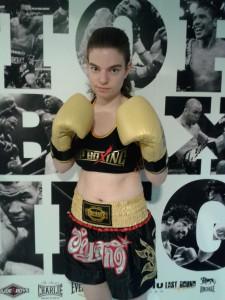 Alba Fagil, la prometedora boxadora del Planasb¡Box.