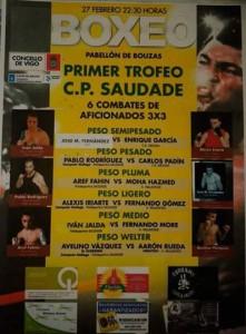 Cartel anunciador del torneo que llevará el nombre Club Saudade.