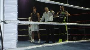 Saúl Gacio, aun sin brillar, se anotó una nueva victoria.