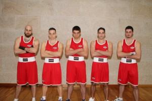 Lo más granado de la Escuela de Boxeo El Canario intervendrán en la gran velada dl sábado día 28. foto E.B. Canario.