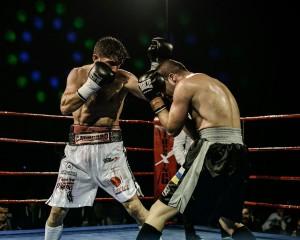 Cahorro en su reciente victoria en La Coruña