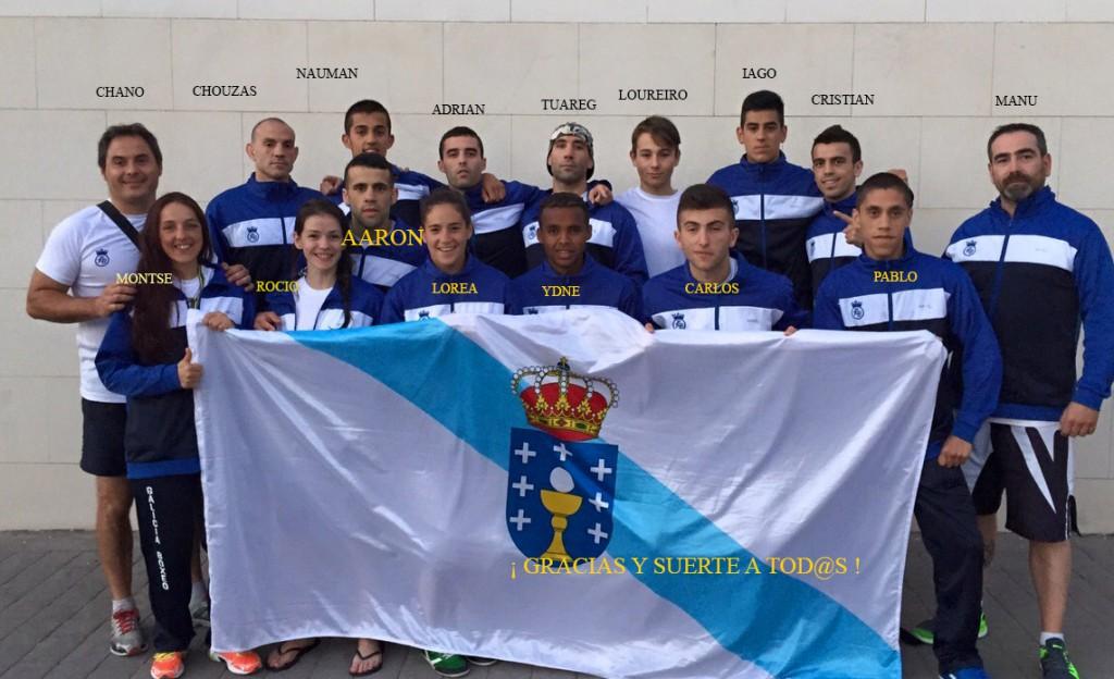 Selección Gallega 2015