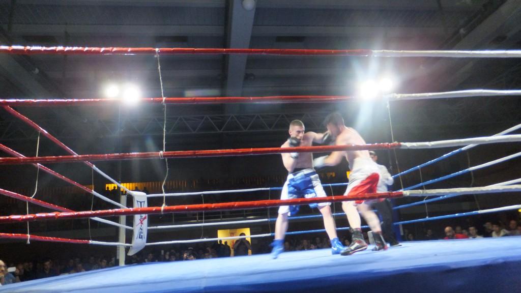 Alberto Piñeiro ha introducido en la historia del boxeo a la augusta ciudad amurallada de Lugo. foto Carlos Mateo