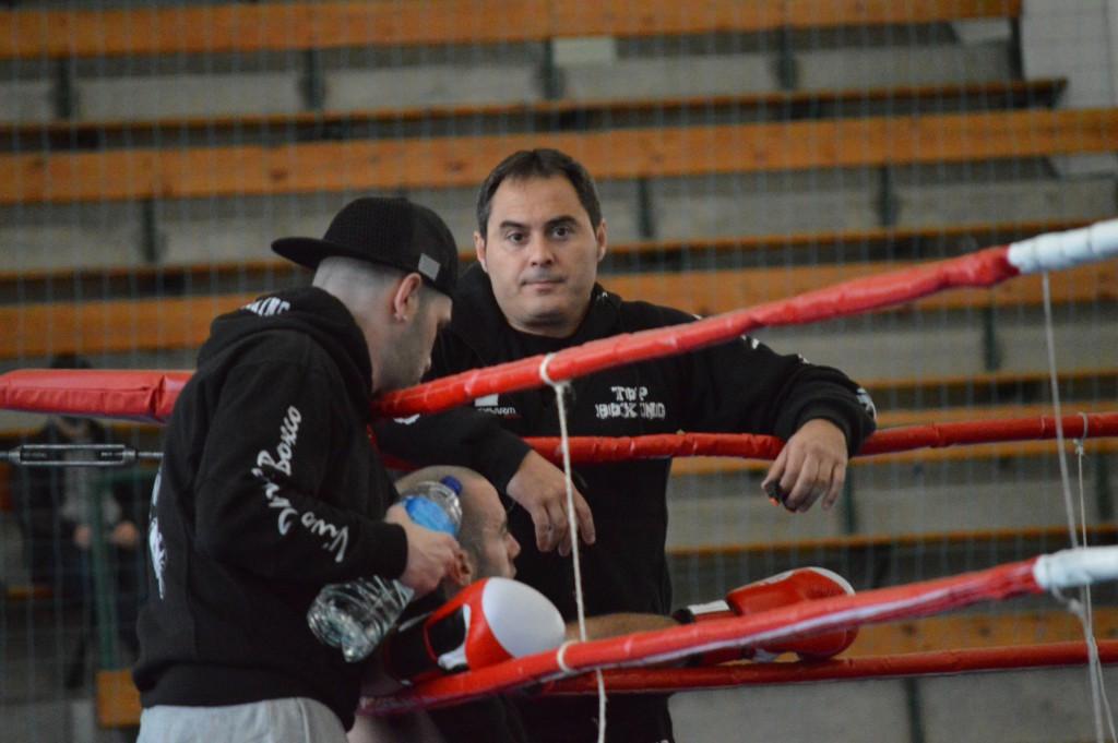 Por clubes el BKC del Promotor y Manager LUCIANO PLANAS OTERO mantiene la hegemonía del boxeo galaico de los últimos años. foto Juan Barral