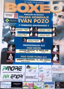Cartel de promoción cortesía de Saudade.