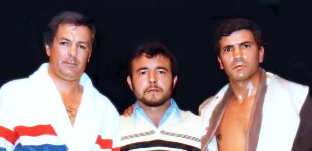 Miguel Velazquez, el vigues Fabio Matilla y Carrasco. archivo Matilla.
