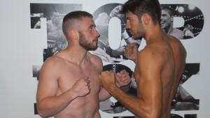 Alberto Piñeiro no debe defraudar la confianza de su preparador Miki Sánchez permaneciendo invicto en su séptimo combate.