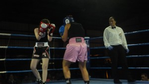 La juez-árbitro Eva Sanchez Ramilo debutó como árbitro principal.