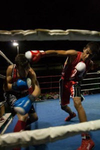 """La agresisvidad y empuje de Nauman """" Kandal """" se dejará ver en el evento organizado por Chente Fernández. foto Parreño."""
