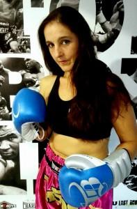 Montse Rey se siente emocionada y orgullosa de su participación en un hito que será parte histórica del boxeo.