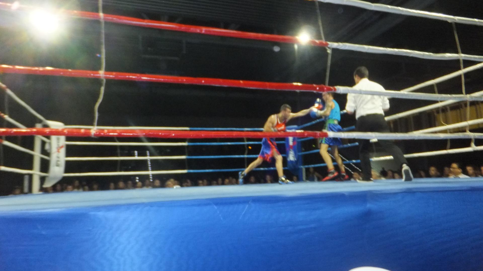 Suma y sigue de La Potrilla. . . 4º KO. ! | boxeodemedianoche