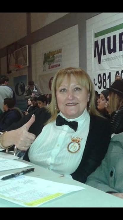 ALICIA LÓPEZ ÁLAVAREZ juez-árbitro, premio Rubén Martínez del año 2015