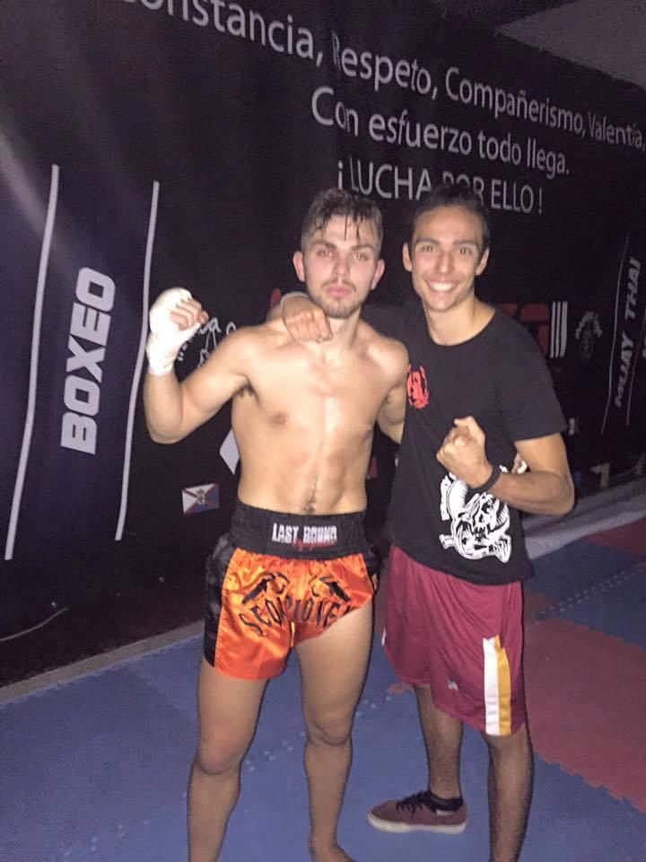 Izquierdo y Quintas, dos figuras del Iago Barros Fight Club.