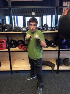 """José """" Thor """" Martinez debuta en menos de 65 kilos en modalidad Combat. foto cedida por José Antelo -CAMM"""