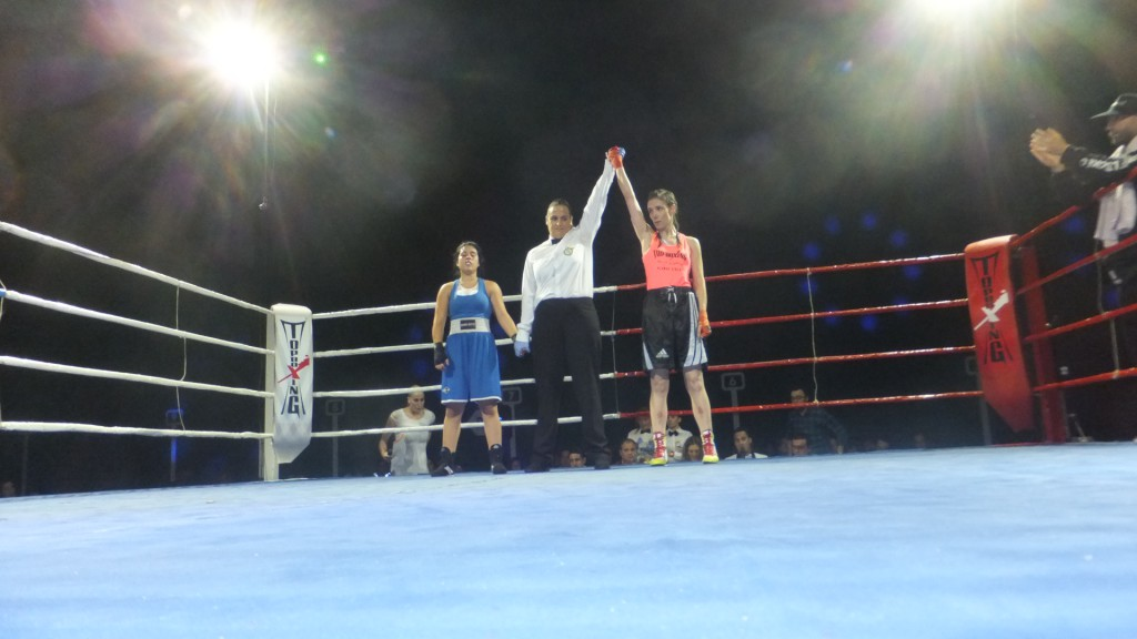 Eva S.anchez declara vencedora a Lucia Rogel sobre Sandra López
