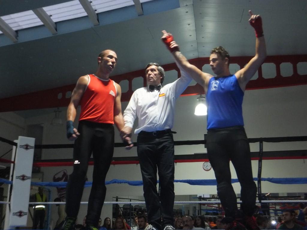 Berto Loureiro (drcha) Campeonato Gallego de Savate. f bm