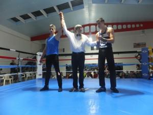 Francisco Lage del Olimpos medalla de Oro y Campeon Gallego de Assaut ( no al KO ) fbm