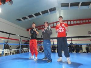 Manu Miguez, Oro, José Martinez Plata y Alberto Vera, Bronce.