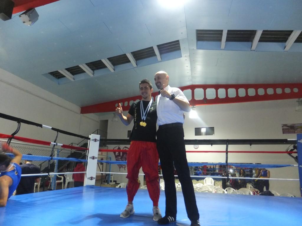 Miguez Junior obtuvo un gran triunfo en Gijón. f bm