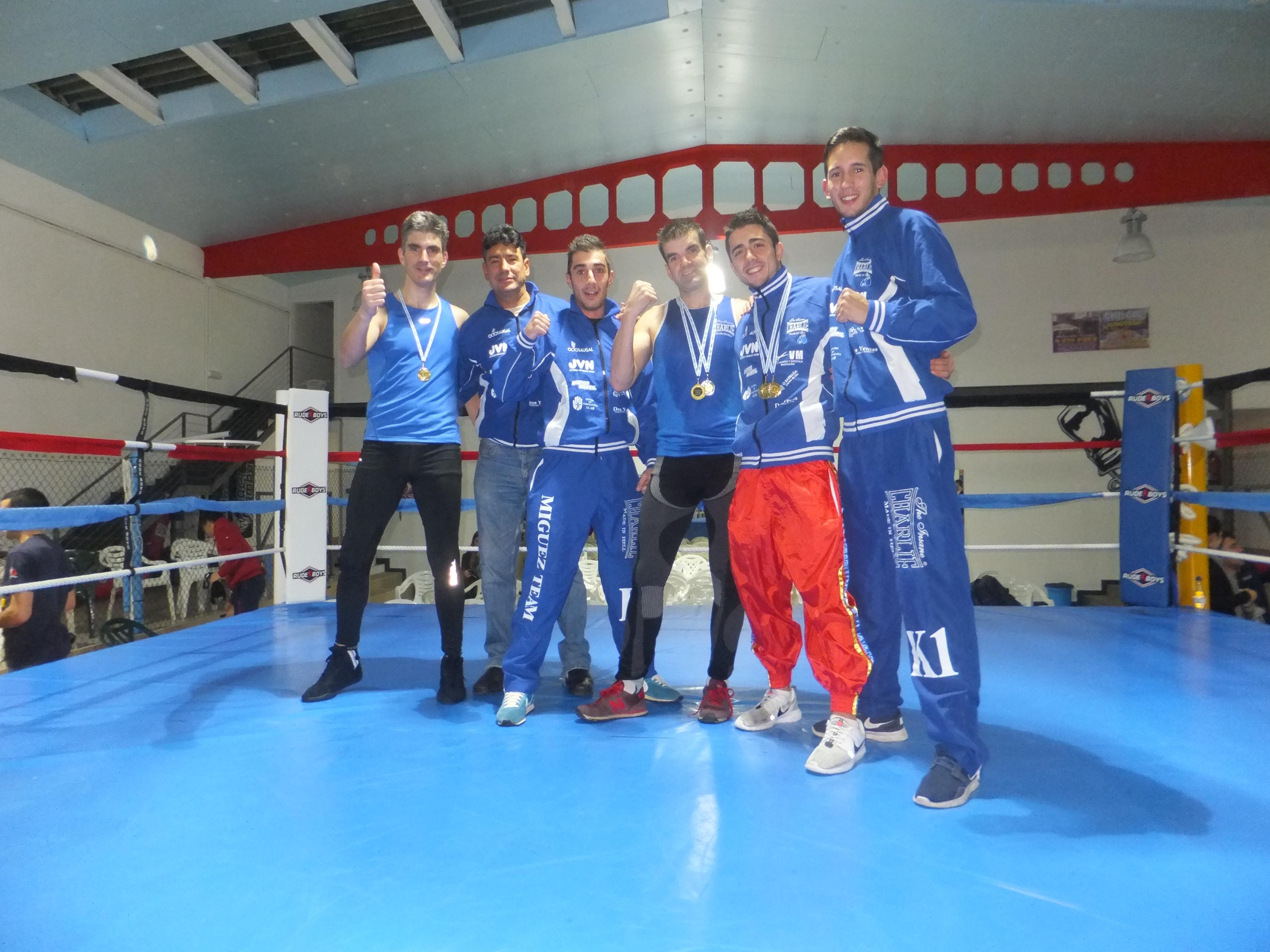 El gimnasio de Maun Miguez acaparó 4 Oros y una Plata en los Gallegos de Savate 2015. f bm