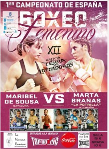 Cartel cortesía de TopBoxing