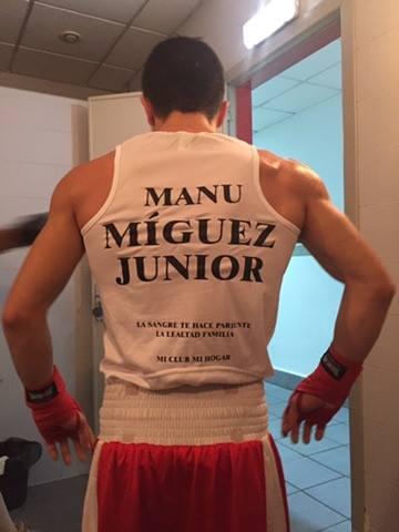 """Manu """"Miguez Junior"""" lleva una racha triunfal en las distintas disciplinas en las que compite. foto cortesía de Manuel Miguez."""