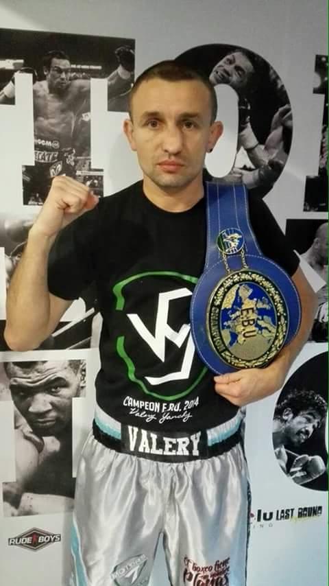 Valery Yanchy se siente perjudicado en su justa aspiraci´n al campeonato europeo. foto cortesía TopBoxing.