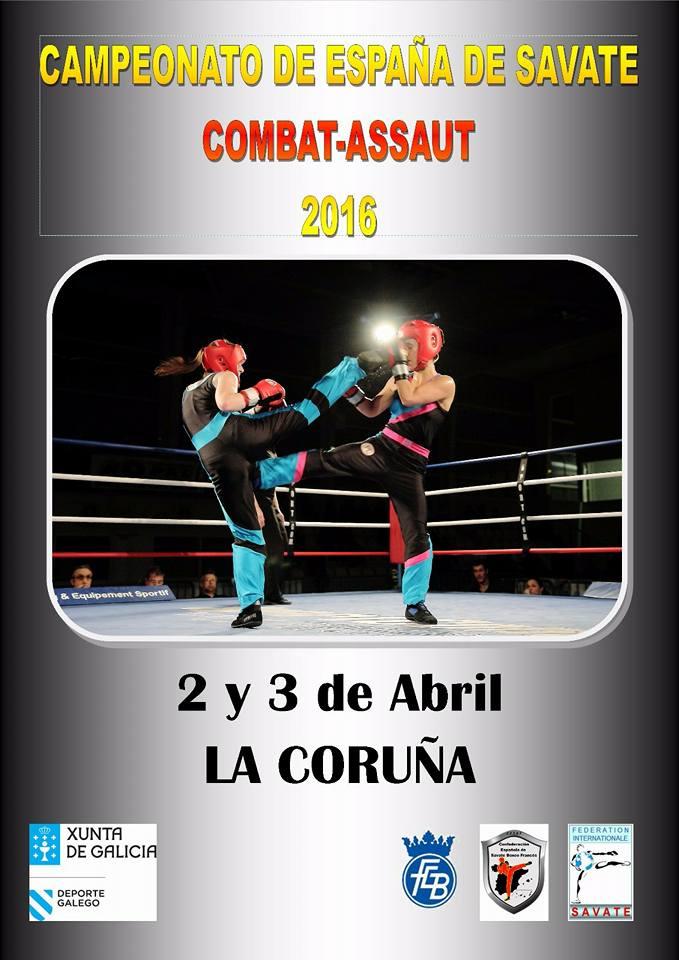 Cartel distribudo por la web de la Federación Gallegade Boxeo