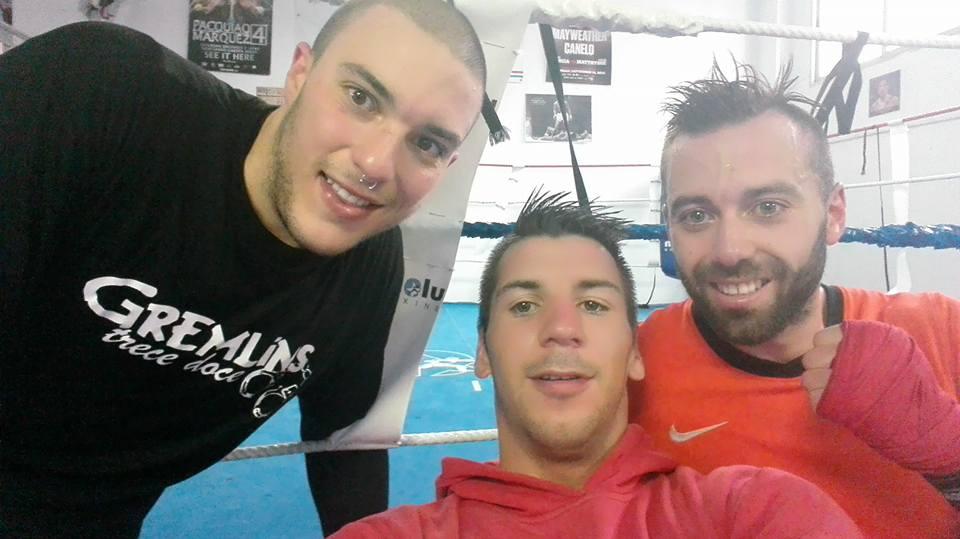 TETO MEILAN, BORJA MARTÍNEZ y ROI CUBEIRO, formaran parte de la fenomenal terna de boxeadores de la velada organizada por LUIS SUÁREZ.