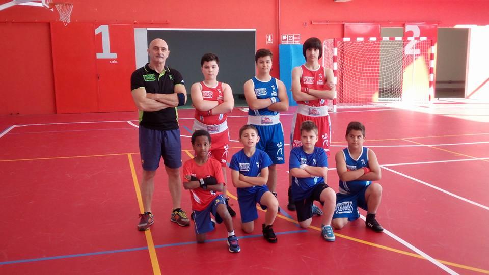 Competidores infantiles del REBOURAS YEAM.