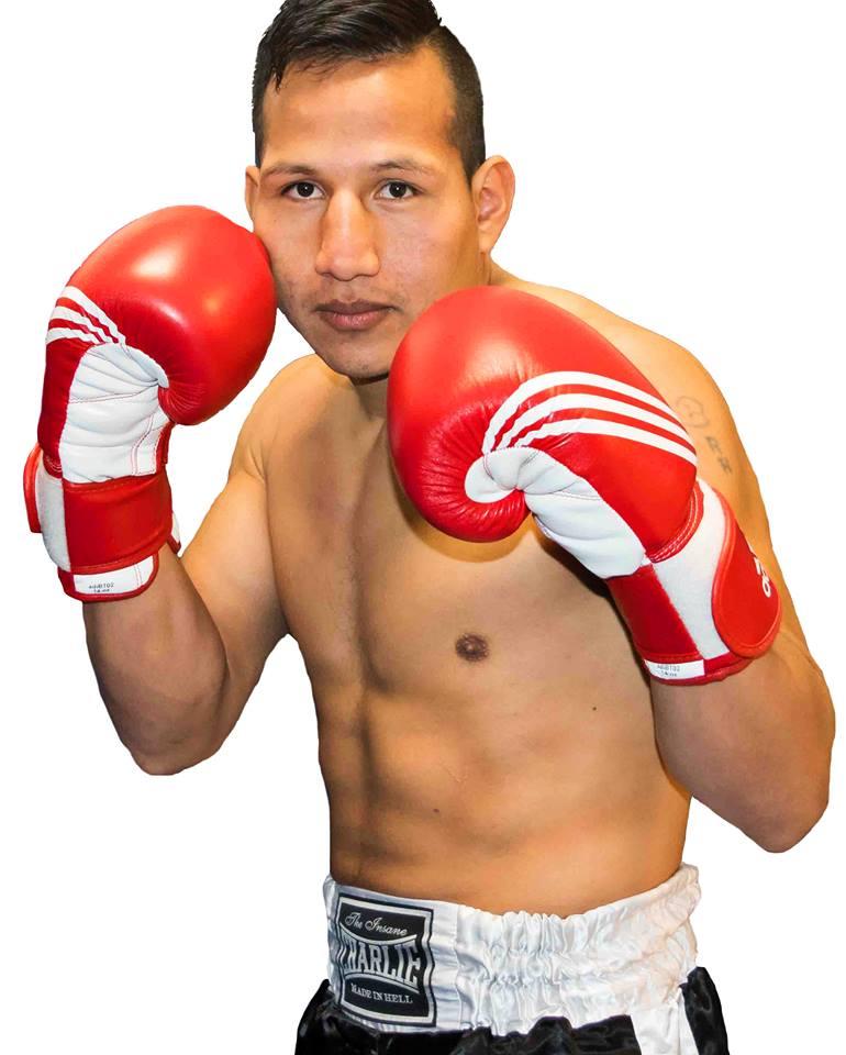 El bravo boxeador de Rocky Álvarez, el colombiano Brian Aranibar Chavez no pasará desapercibido en Arteixo, segurísimo.