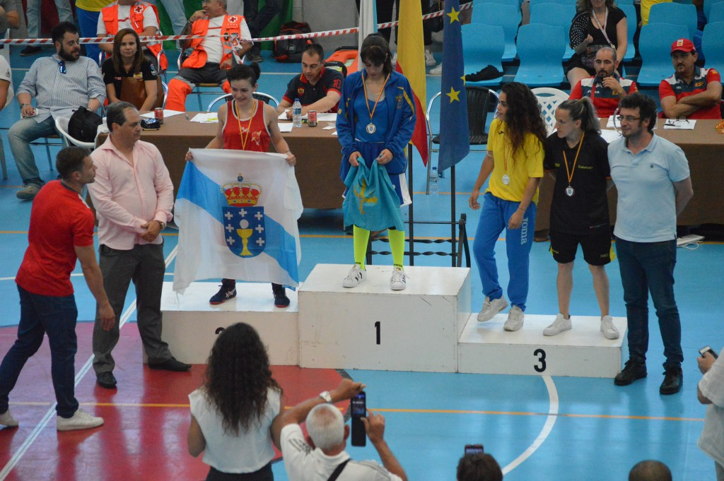 ROCÍO SUÁREZ GION medalla de Plata. Foto Juan Barral.
