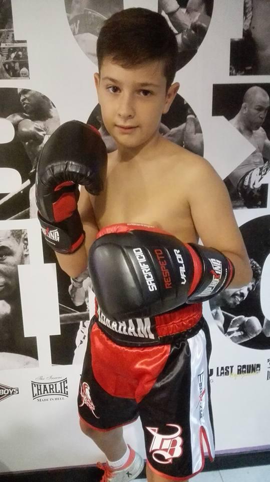 ABRAHAM del Ludus Box Artabrum será uno de los participantes en el Campeonato Nacional de Formas.