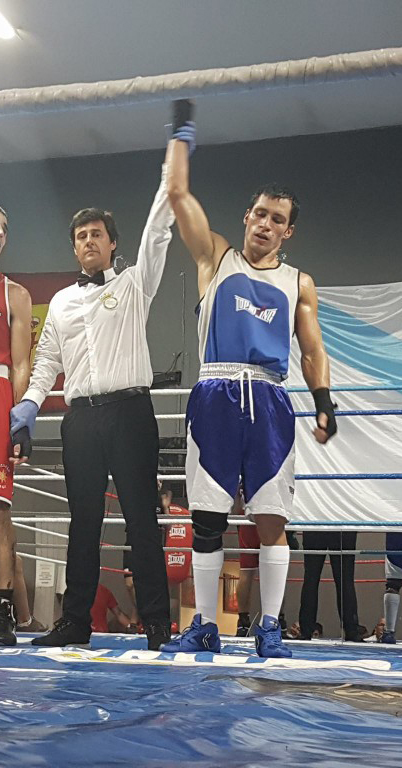 Luis Alberto Piza representará al Olimpo´s en el certamen entre clubes.