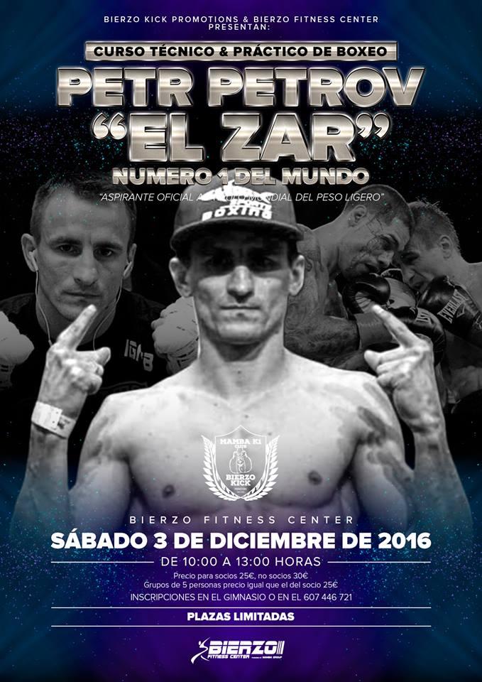 cartel del Curso de Boxeo. web