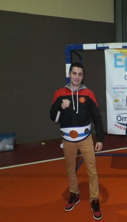 ENRIQUE GARCÍA PEREIRA campeón gallego,alcanzó nuevo triunfo en Bouzas.