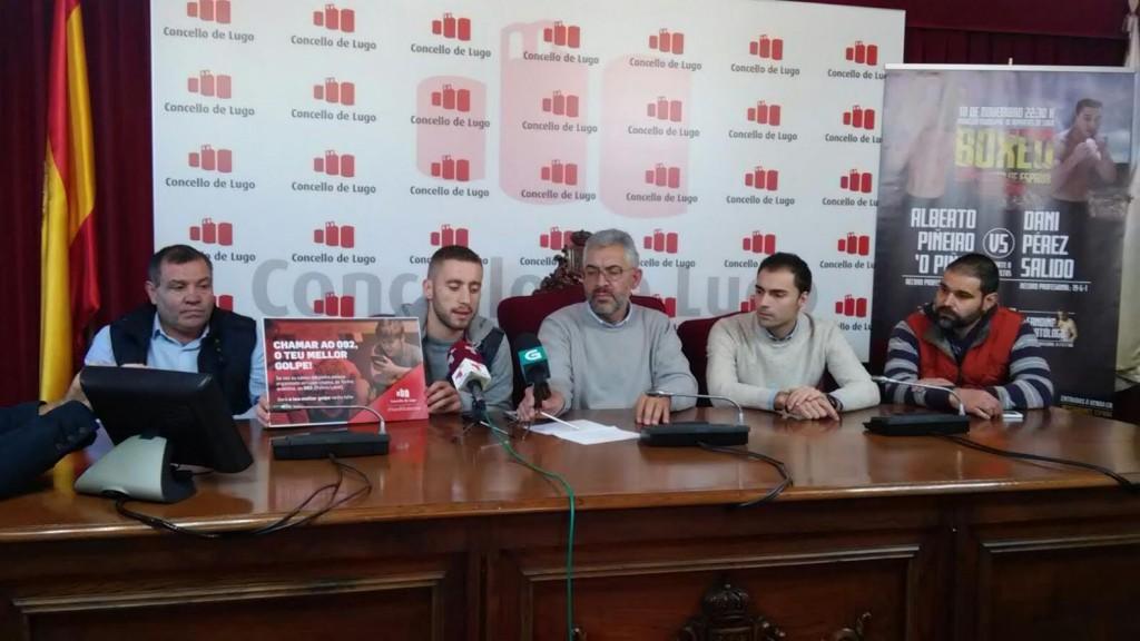 Fotografia de la presentación del Campeonato de España en las instalaciones del Ayuntamiento de Lugo. foto Club Xan Pérez.