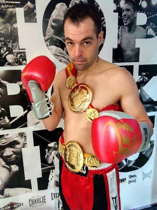 José Ramón Miras Lago bi-campeón nacional del peso gallo. Foto TopBoxing.