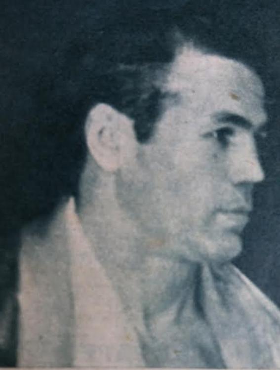 EXUPERANCIO GALINA DIAZ en una imagen de la revista BOXEO. colección boxeodemedianoche