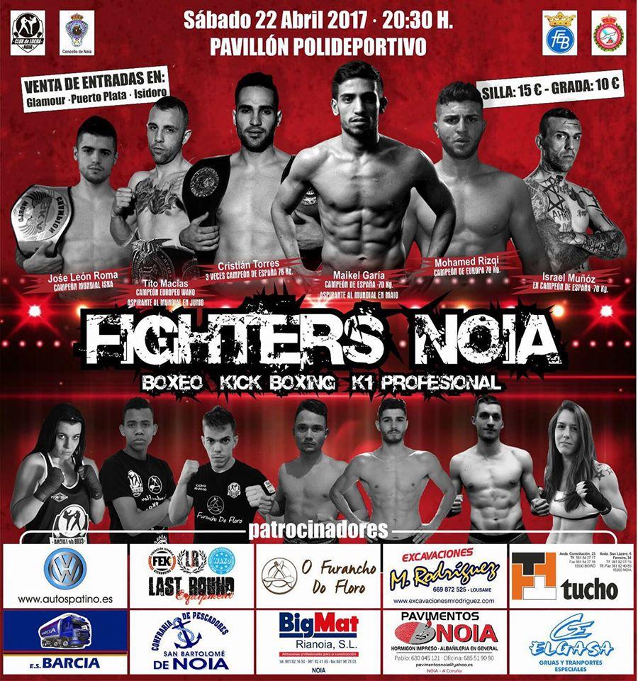 Afiche anunciador del macro evento de los deportes de contacto impulsado por el CLUB DE LUCHA NOIA.