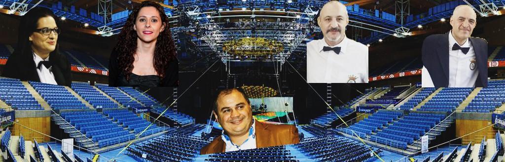 Los jueces - árbitos Eva Sánchez, Sonia Fernández, Javier Vázquez y J.Manuel Vilas, serán coordinados por el Delegado Manuel Planas.