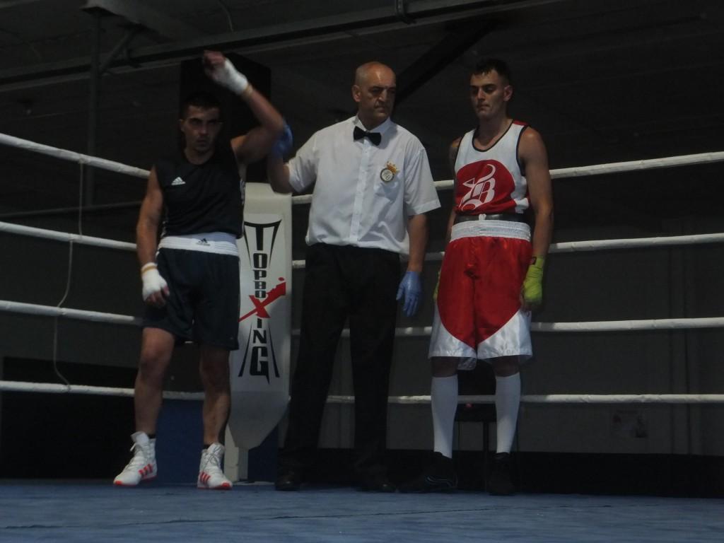 Santi Alonso se hizo con la medalla de Plata en los últimos campeonato Gallegos.