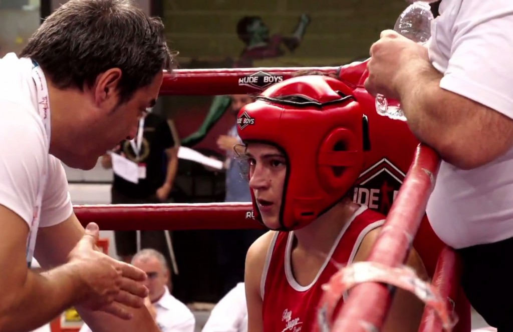 Lorea Murgoitio hizo un buen combate hasta el último tercio.