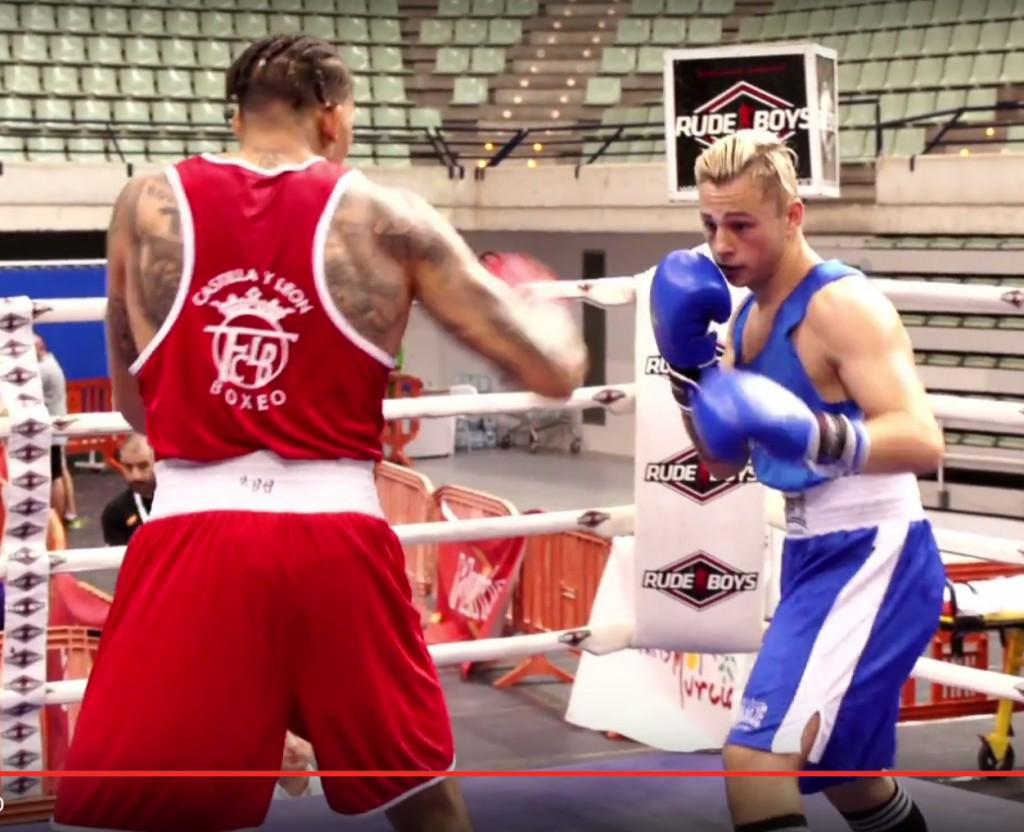 El huracán olívico no se amedrentó ante un boxeador con una gigantesca técnica y gran potencia.